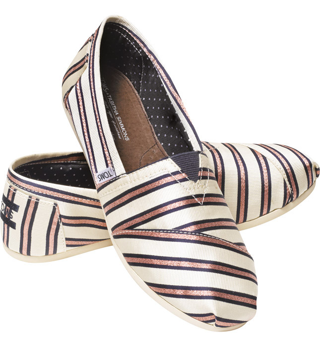 TOMS Collaborates with Tabitha Simmons