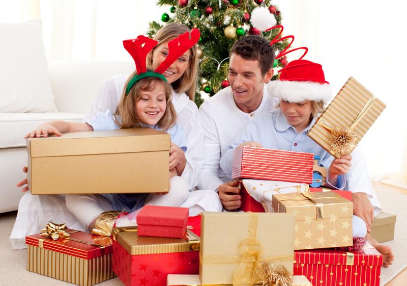 Как оформить подарок на Новый год 2014?