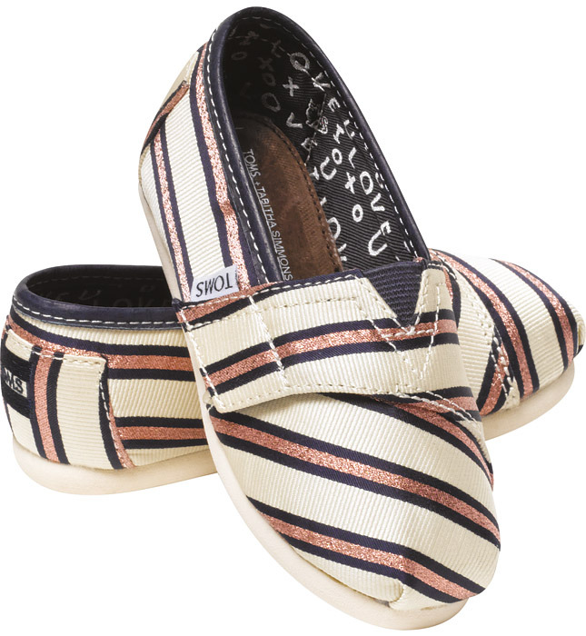 TOMS+ x Tabitha Simmons: Holiday'13 Collection