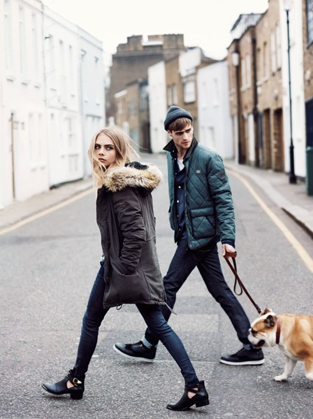 Pepe Jeans London Fall-Winter 2013/14 Cara Delevingne