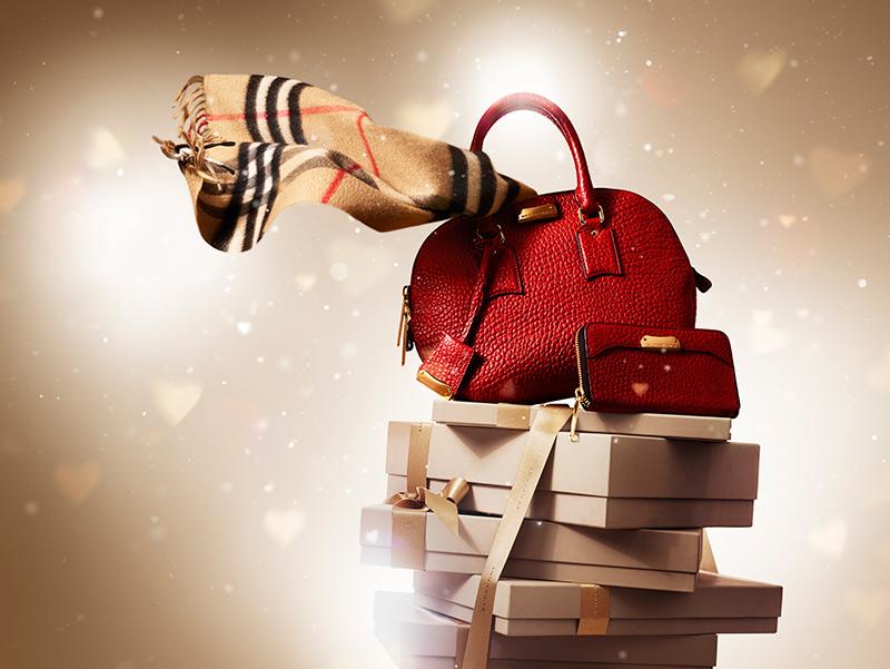 Рождественская коллекция от Burberry