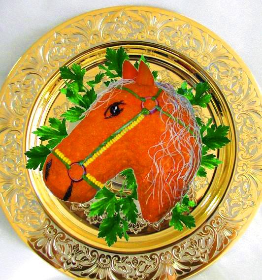 Новогодние блюда в год Лошади