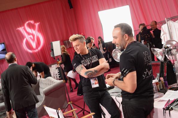 закулисье показа Victoria's Secret (ФОТО)