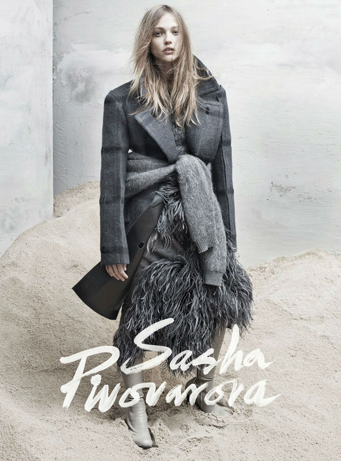 Sasha Pivovarova for The Last Magazine No.11 Fall 2013
