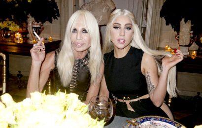 Lady Gaga новое лицо Versace