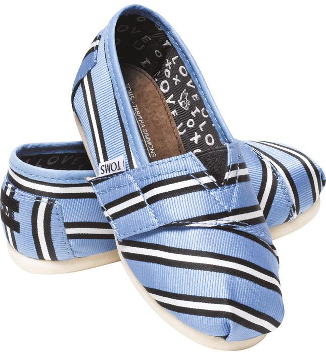 Табита Симмонс создала коллекцию обуви для Toms