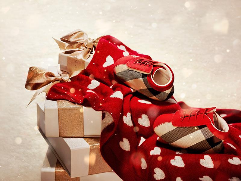 Burberry представляет Burberry With Love Рождественская кампания 2013