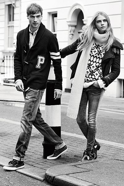 Кара Делевинь - лицо Pepe Jeans London