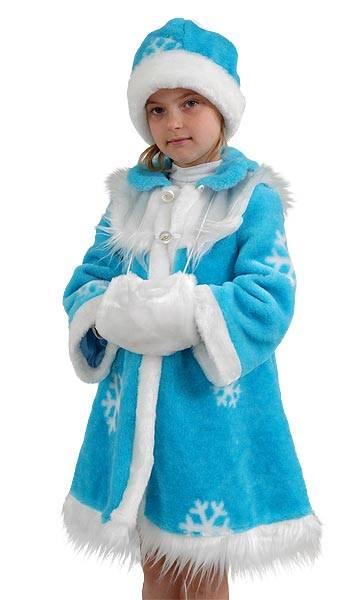 Новогодний костюм снегурочки своими руками