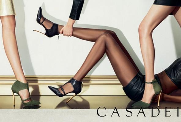 Итальянский бренд Casadei выпустил новую коллекцию обуви осень-зима 2013/14
