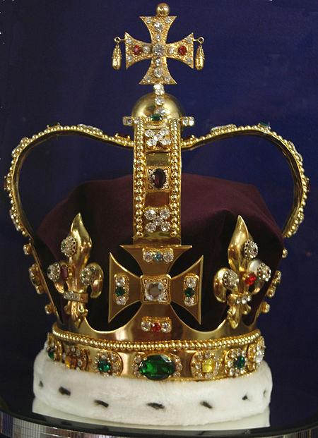 Корона для коронации британских монархов