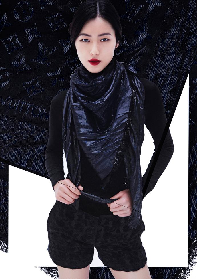 Рекламная кампания с Лиу Вен для Louis Vuitton в 2013, фото