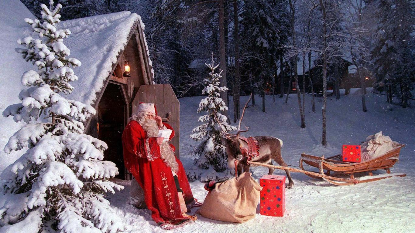 Зимой мы празднуем новый год