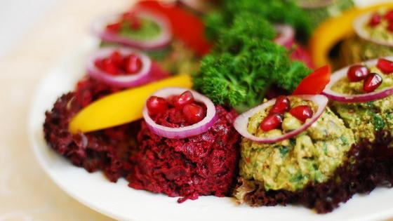 Блюда с зеленью