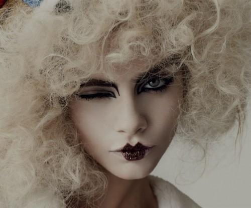 Блондинка на хэллоуин