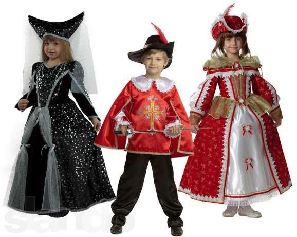 Деский карнавальный костюм на новый год