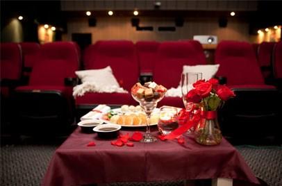День Святого Валентина в кинотеатре