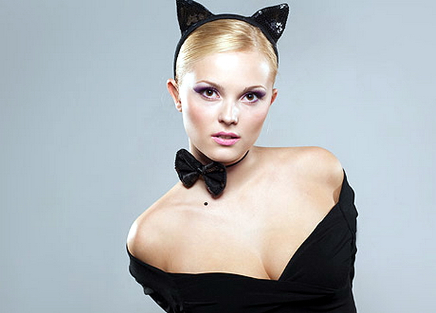 Костюм кошки на Хэллоуин