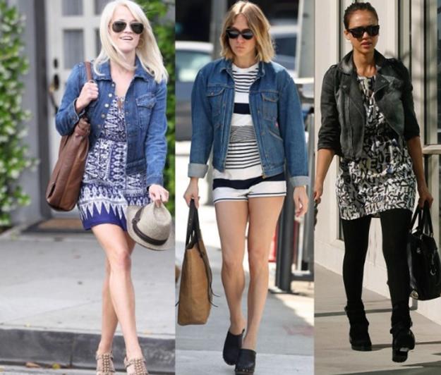 Джинсовая куртка модно