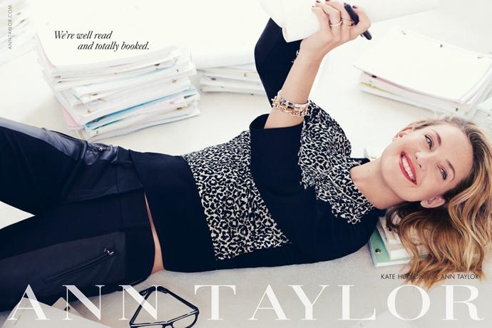 Кейт Хадсон - лицо  кампании сезона осень-зима 2013/14 Ann Taylor