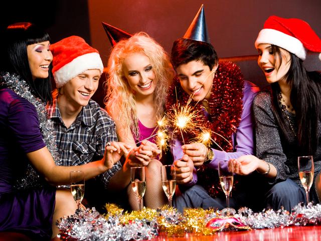 Как отмечали новый год