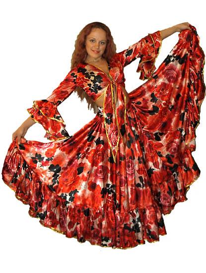 карнавальный костюм цыганки своими руками