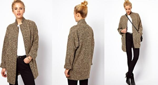 Обьемное пальто