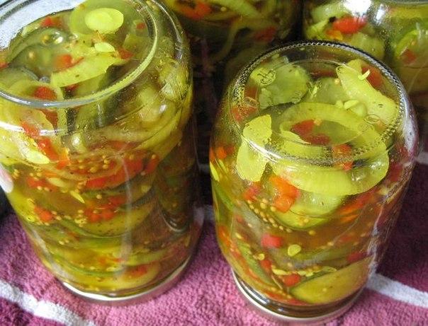 Рецепт приготовления огуречного салата