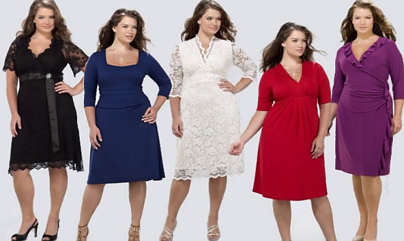 Платье для полной девушки