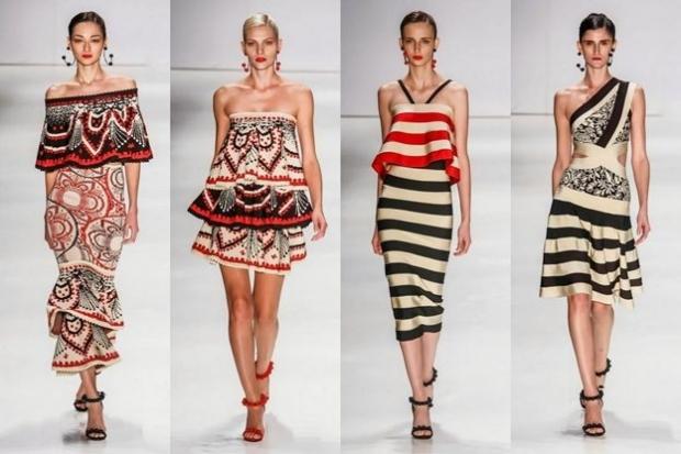 Платье с декоративными элементами