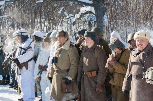 Посетить военно-исторические реконструкции на 23 февраля