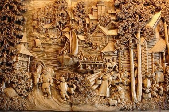 Резчики по дереву и их искусство