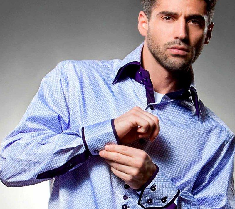 Рубашка для мужчины на день влюбленных