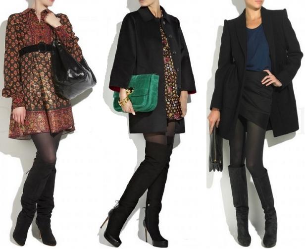Модные женские сапоги