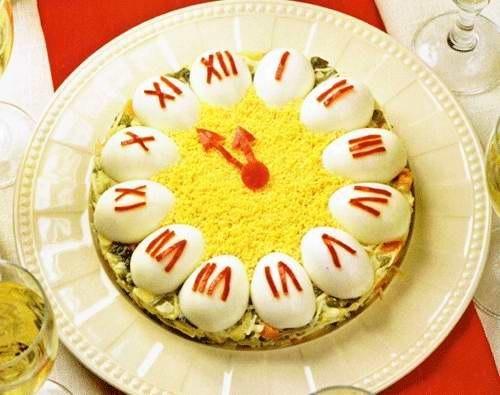 салат Часики (рецпт и фото)