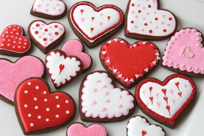 Сладости на день влюбленных