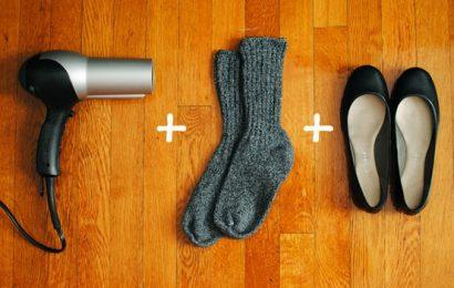 Как разнашивать обувь