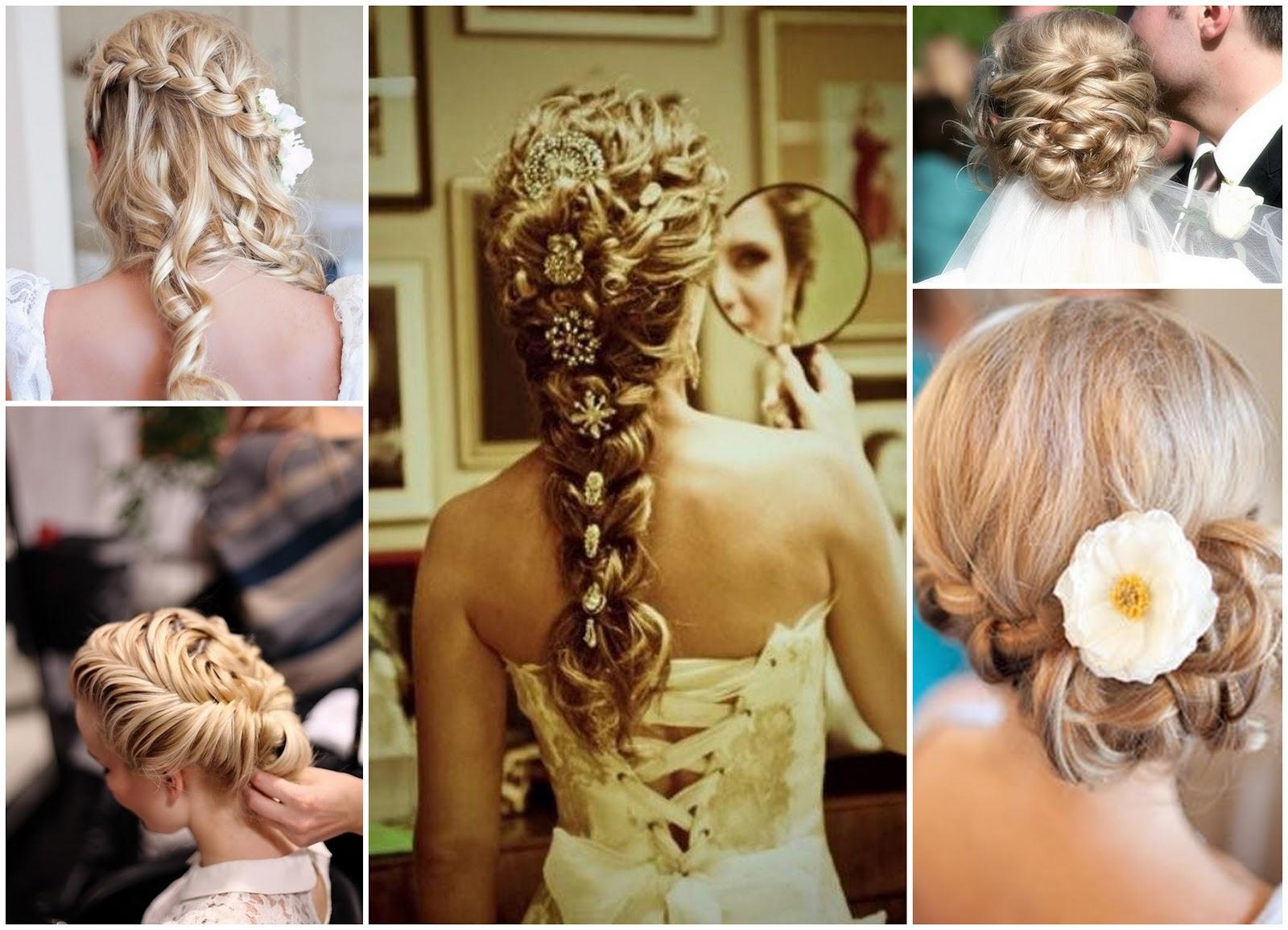 Свадебные причёски с пошаговым фото