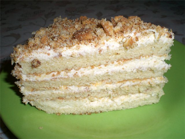 Как сделать простой торт