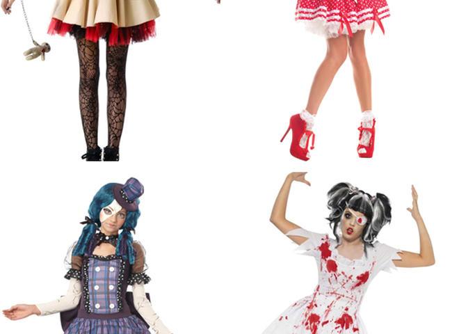 Тряпичная кукла на Хэллоуин