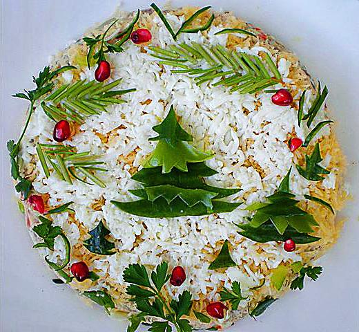 Праздничные салаты 2014 (рецепты с фото)