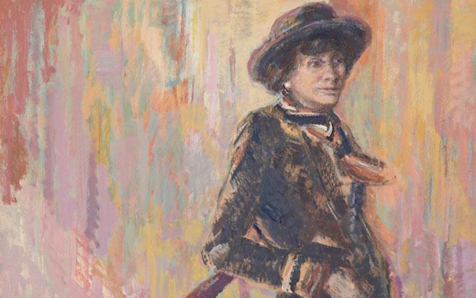 выставка работ Мэрион Пайк, посвященная Коко Шанель