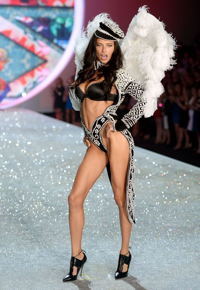 First look at the Victoria's Secret Fashion Show 2013 Adriana Lima