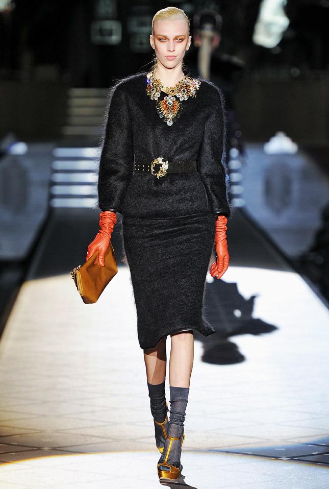 основные тренды осенне-зимнего сезона 2013 на Неделе моды в Лондоне (фото)