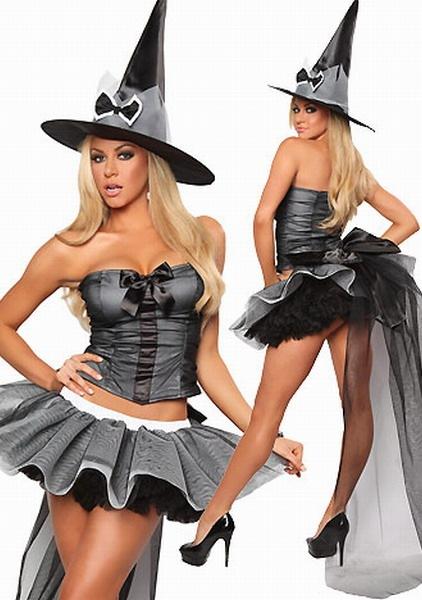 Костюмы на Хэллоуин - ведьма