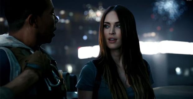 Меган Фокс снялась в рекламе Call of Duty: Ghosts (видео)