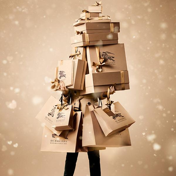 """Рождественская кампания 2013 от Burberry: видео """"With love"""" + много фото"""