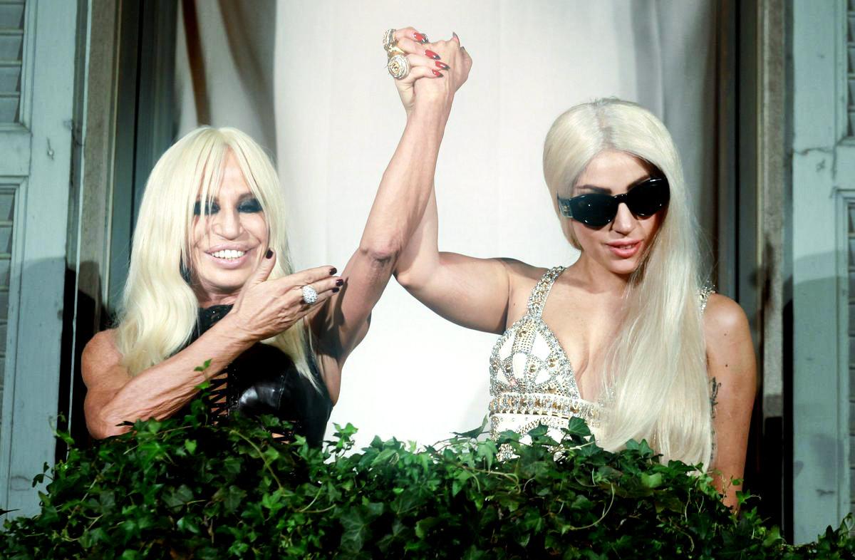 Леди Гага будет представлять Дом Versace (фото и видео)