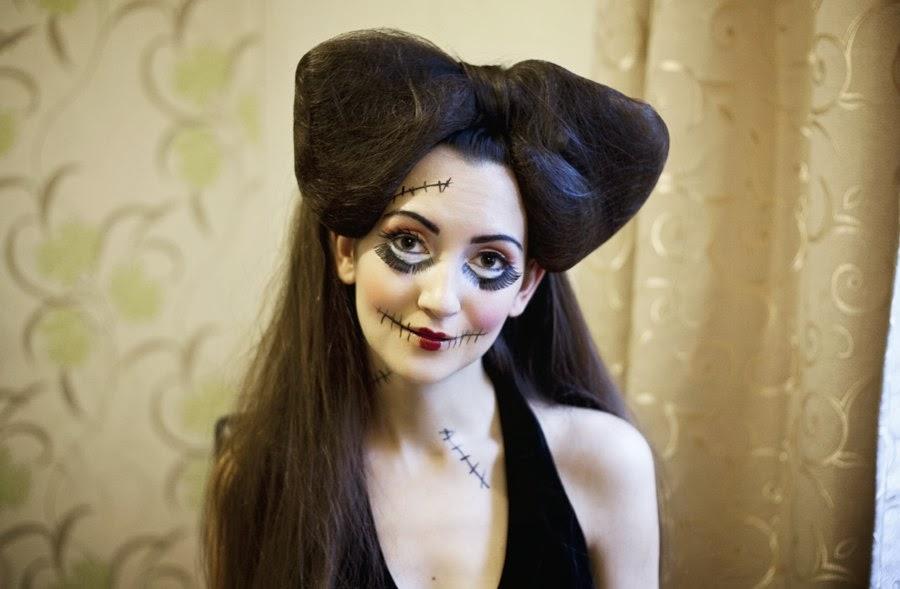 Макияж на Хэллоуин — ФОТО
