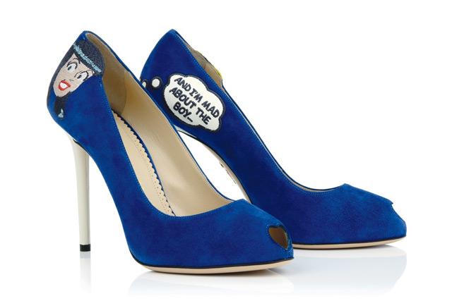 Charlotte Olympia: фото прототипа обуви 2013